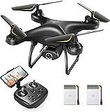 SNAPTAIN SP650 1080P Drohne mit Kamera für Erwachsene für Anfänger mit Sprachsteuerung, Gestensteuerung, Kreisflug, Hochgeschwindigkeitsrotation, Höhen halten, Headless-Modus