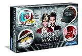 Clementoni 59049 Ehrlich Brothers Street Magic, Zauberkasten für Kinder ab 8 Jahren, magisches Equipment für 40 verblüffende Zaubertricks, inkl. 3D Erklärvideos