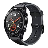 Huawei Watch GT Sport Smartwatch (46 mm Amoled Touchscreen, GPS, Fitness Tracker, Herzfrequenzmessung, 5 ATM wasserdicht)