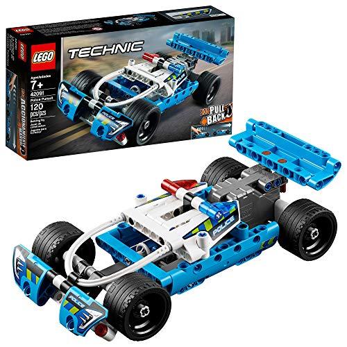 Bild des LEGO Technic Police Pursuit 42091 Bausatzes (120 Teile)