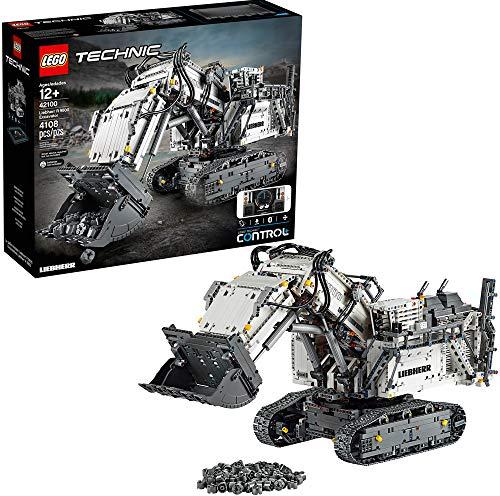 Bild des LEGO Technic Liebherr R 9800 Bagger 42100 Bausatzes (4.108 Teile)