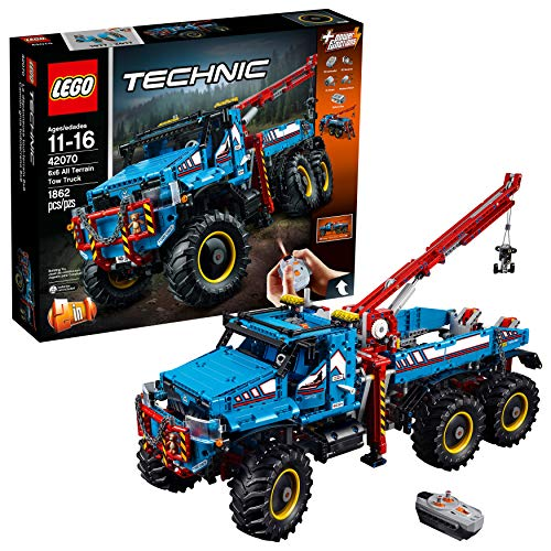 Bild des LEGO Technic 6x6 Geländeschlepper 42070 Bausatzes (1862 Teile)