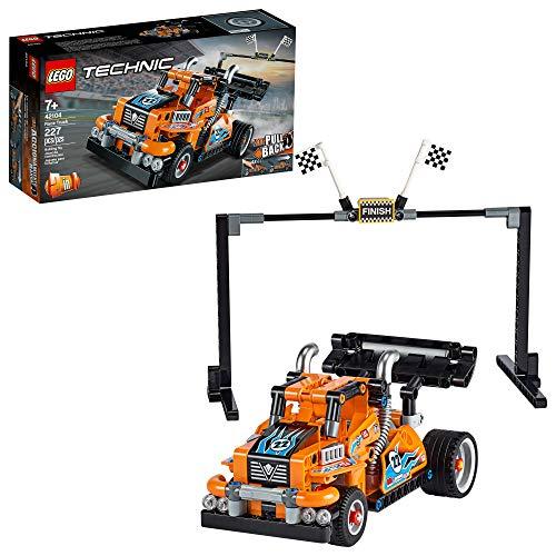 LEGO Technic Race Truck 42104 Rückziehbarer Modell-Lkw-Bausatz, Neu 2020 (227 Stück)