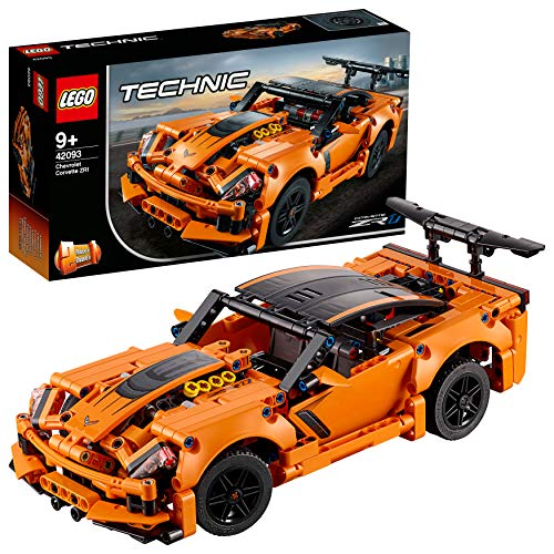Abbildung des LEGO Technic Chevrolet Corvette ZR1 42093 Bausatzes (579 Teile)