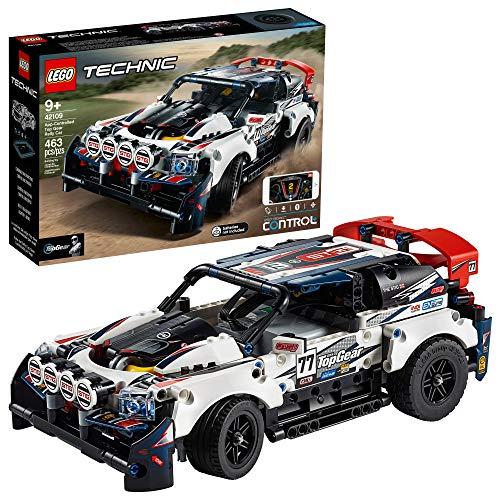 Bild des LEGO Technic App-gesteuerten Top Gear Rallye-Autos 42109 Rennspielzeug-Bausatz, Neu 2020 (463 Teile)