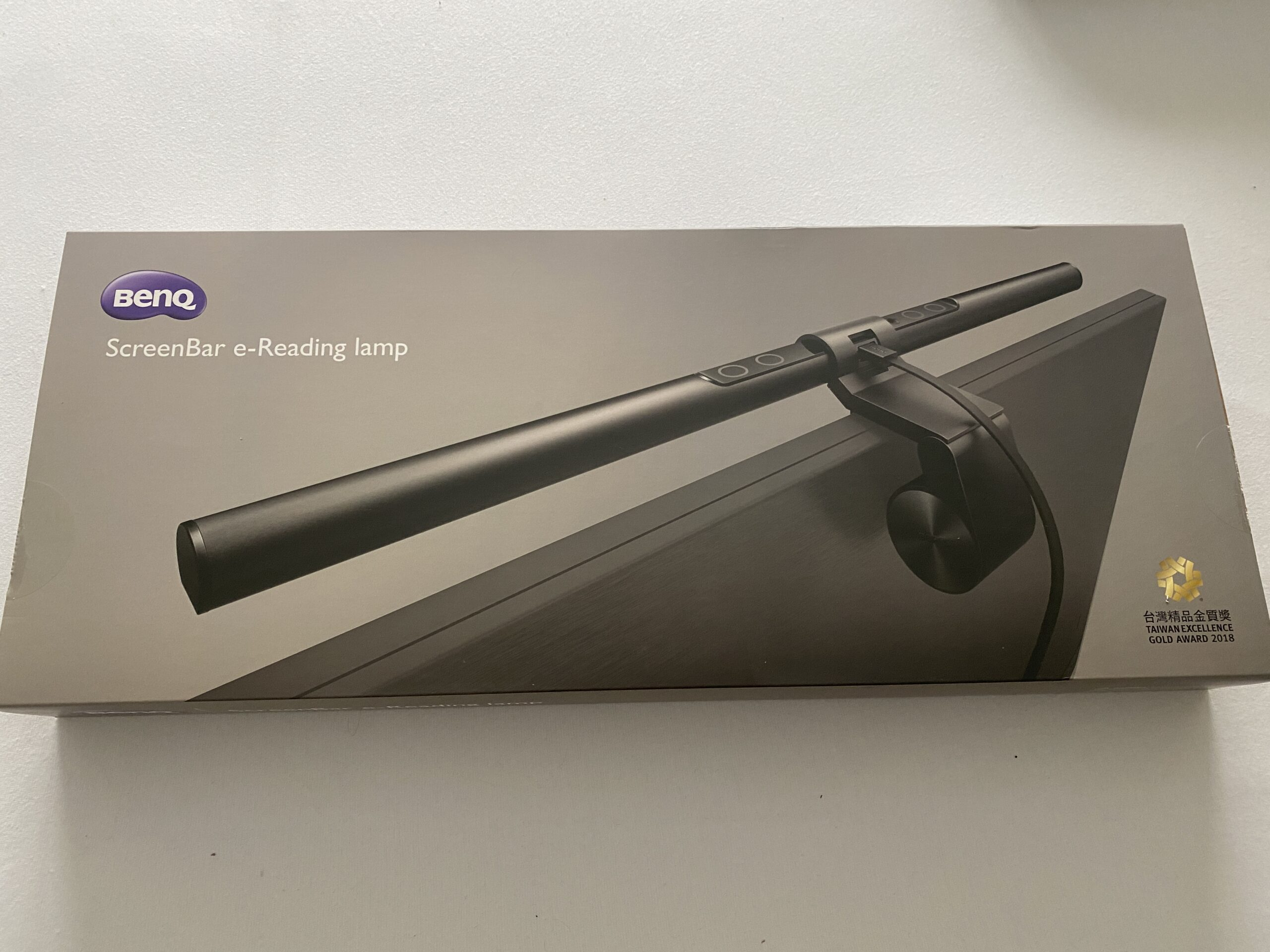Produkttest – BenQ ScreenBar E-Reading Lampe