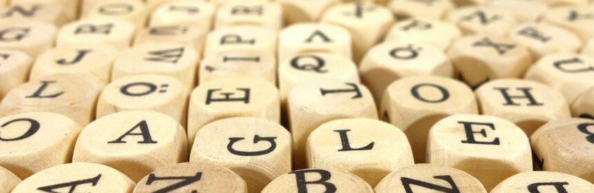Buchstaben-WirrWarr
